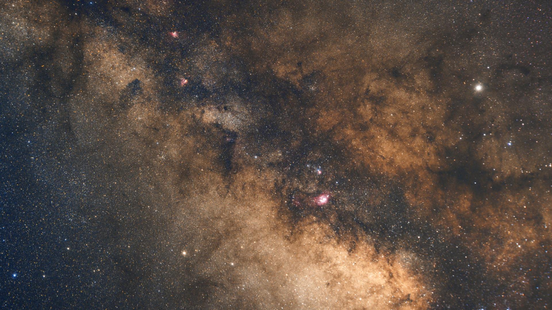 銀河中心特寫