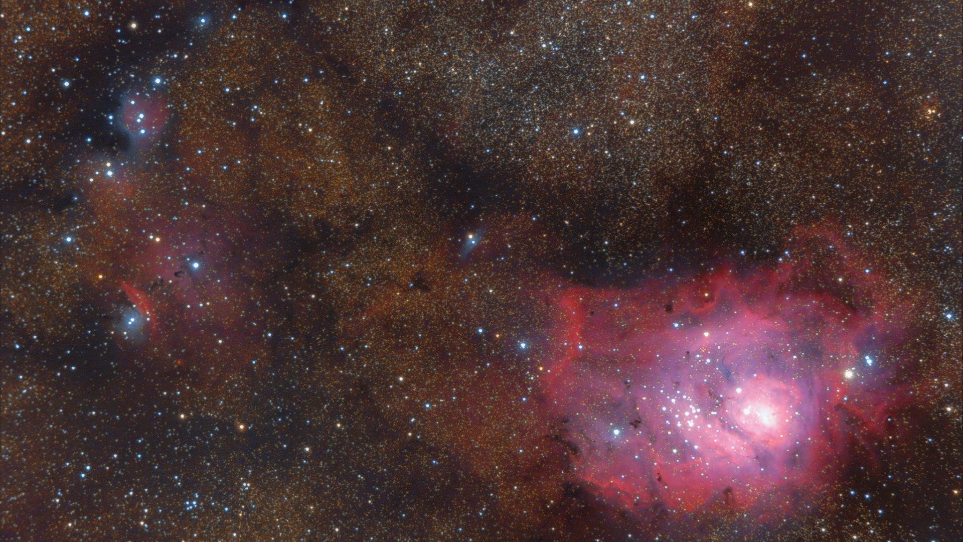 礁湖星雲(M8)